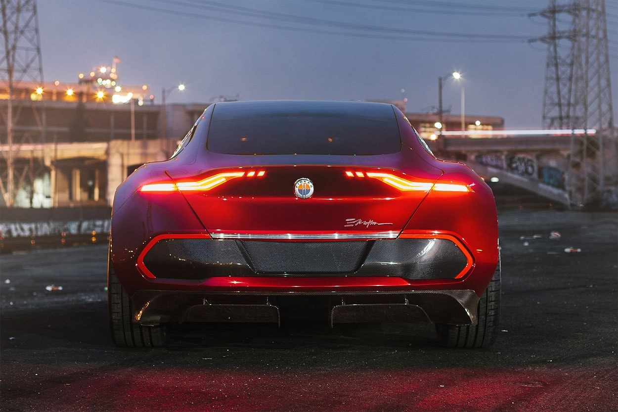 Fisker Emotion 2018 – новый электрокар от Хенрика Фискера