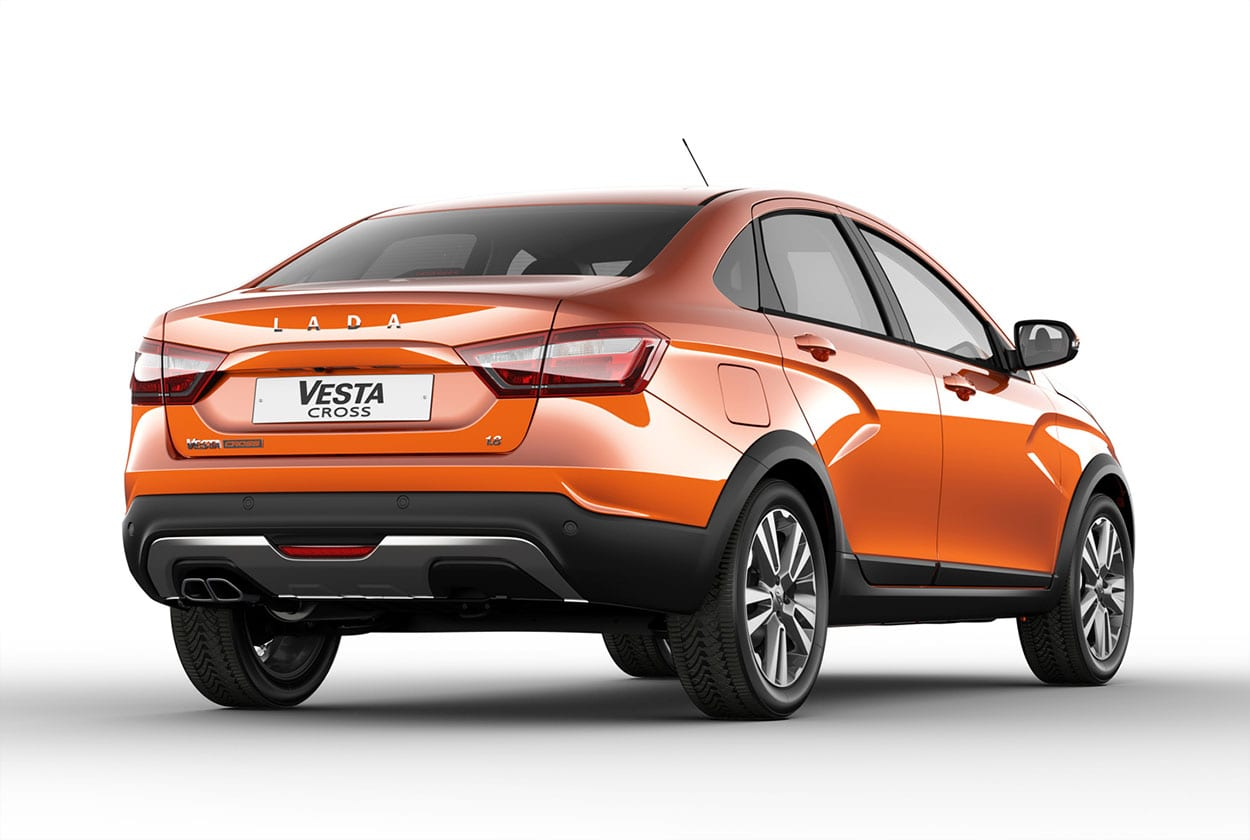 Lada Vesta Cross Sedan 2018 – серийная версия вседорожнего седана Лада Веста Кросс