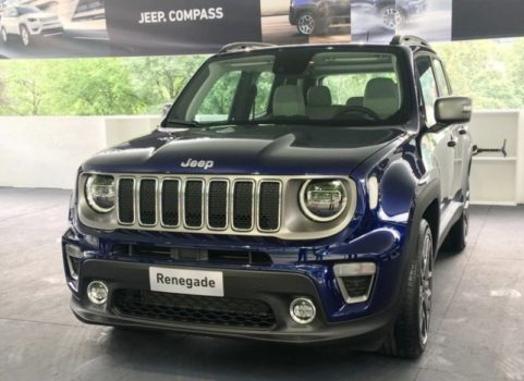 Новый Jeep Renegade 2019 — компания провела плановый рестайли