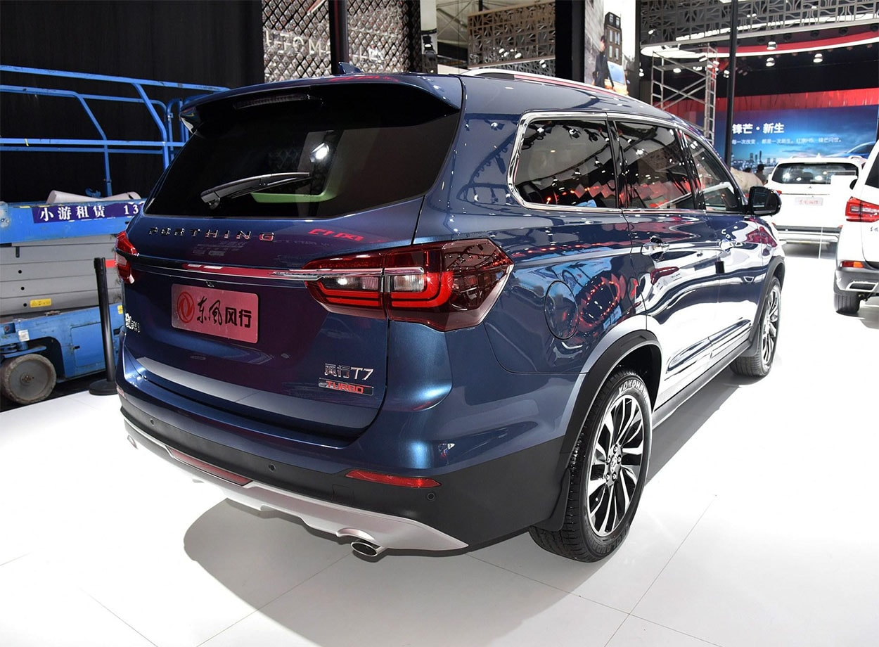 Dongfeng T7 2018 – старший брат кроссовера Dongfeng T5