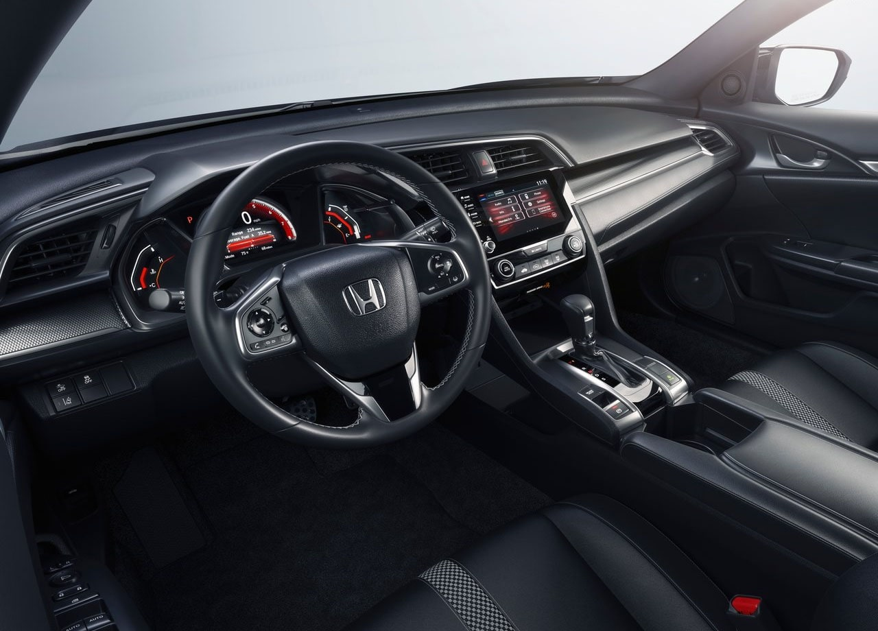 Honda Civic 2019 – плановый рестайлинг Хонда Цивик