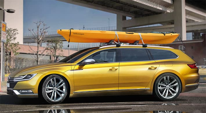 Volkswagen CC Shooting Brake: VW Arteon стал универсалом