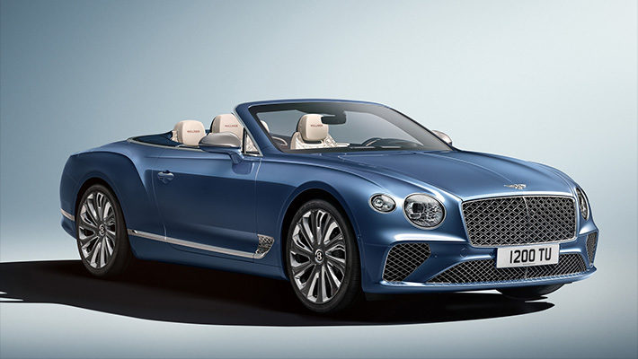 Кабриолет Bentley Continental GT Mulliner: апофеоз роскоши